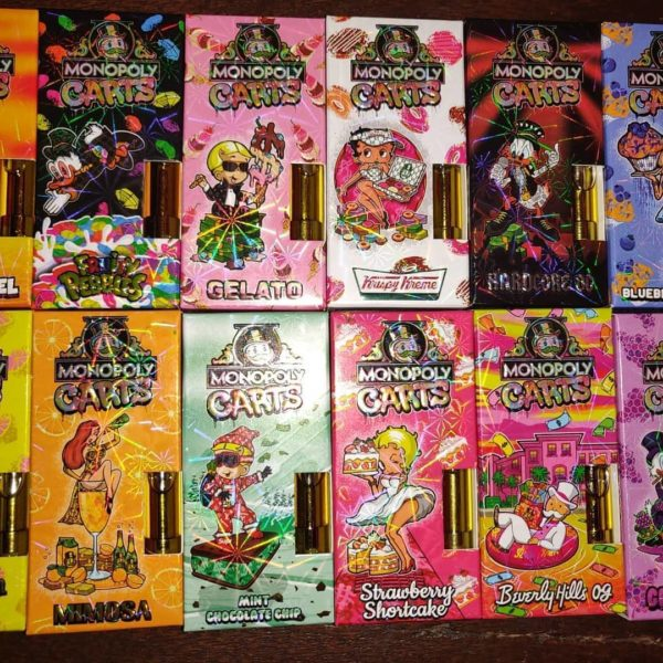 Monopoly Carts – 1g